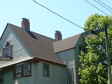 Residential roofing job in Chicago